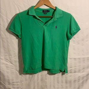 Polo Ralph Lauren Green boys large polo shirt
